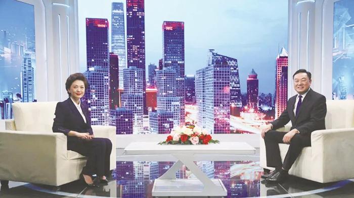 CCTV主持人海霞人物访谈|易佰福食品魏保山:诚信,是企业的生命!